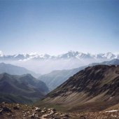 Вид с плато Кыртыкаш